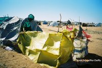 Photo taken at IDP camp near Nyala, Darfur. December 2004. By Scott Schaeffer-Duffy