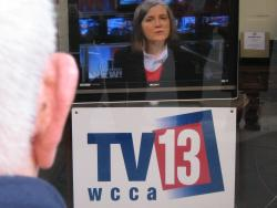 Democracy Now debuts in Worcester, April 3, 2006