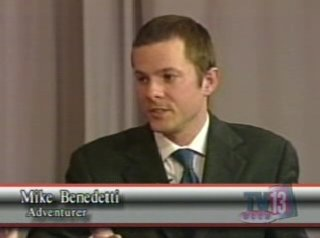 Mike Benedetti on Flipside, WCCA TV13, March 2006