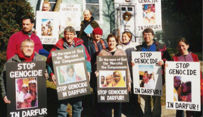 At Dorothy Day Catholic Worker House, the morning of Feb 2, 2005