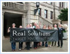 Real Solutions press conference at City Hall, Worcester, Mass.