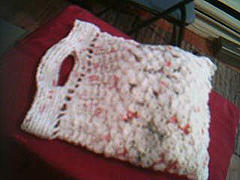 Tote knit from plastic bags