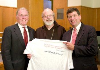 Ray Flynn, Cardinal O'Malley, Larry Cirignano