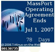 MassPort countdown