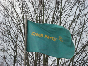 Green Party flag
