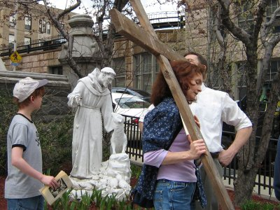 Stations of the Cross, Worcester, Good Friday 2006