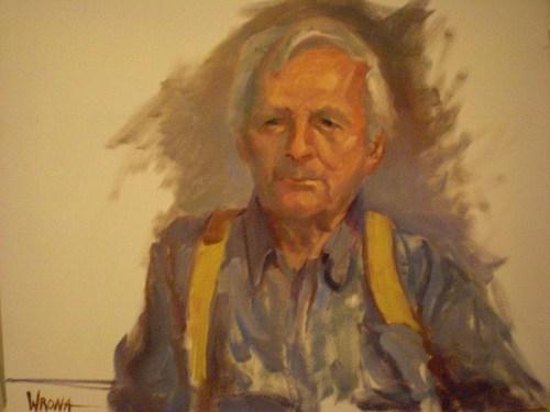 Portrait of Daniel Dick by Wrona