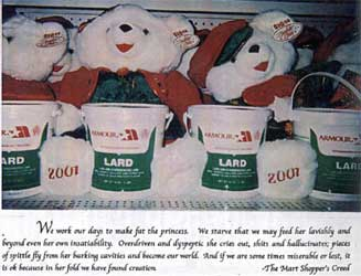 teddy bears with lard