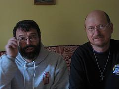 Ken Hannaford-Ricardi and Scott Schaeffer-Duffy